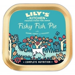 Fishy Fish Pie With Salmon, Turkey & Potatoes Wet Dog Food 150g