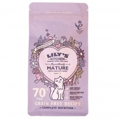 Marvellously Mature Fish & Healthy Herbs Mature Cat Food 200g