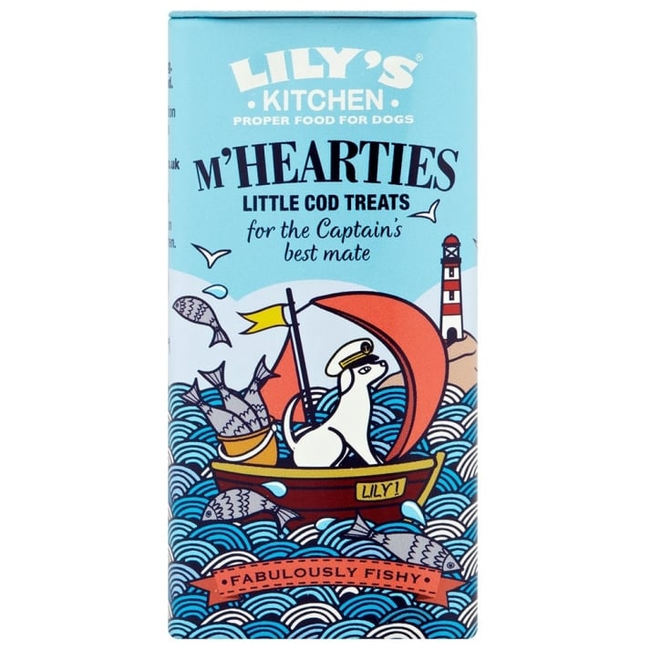 Lily's Kitchen M'Hearties Little Cod Dog Treats 34g