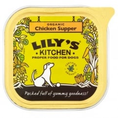 Lily's Kitchen Organic Chicken Supper Wet Dog Food 150g