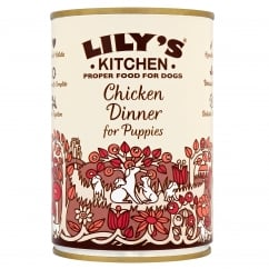 Proper Food for Dogs Chicken Dinner for Puppies 400g
