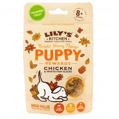 Puppy Rewards Chicken & Fish Slices Puppy Treats 60g