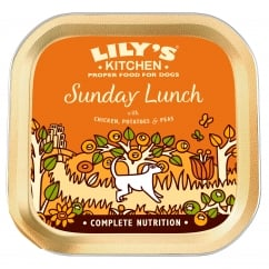 Sunday Lunch With Chicken, Potatoes & Peas Wet Dog Food 150g
