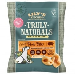 Lily's Kitchen Truly Naturals Crispy Pork Bites Dog Treats 22g