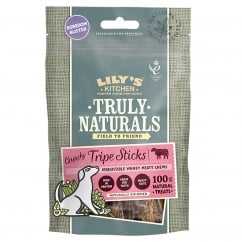 Lily's Kitchen Truly Naturals Crunchy Tripe Sticks Dog Treats 80g