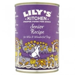Wise & Wonderful Senior Recipe Wet Dog Food 400g