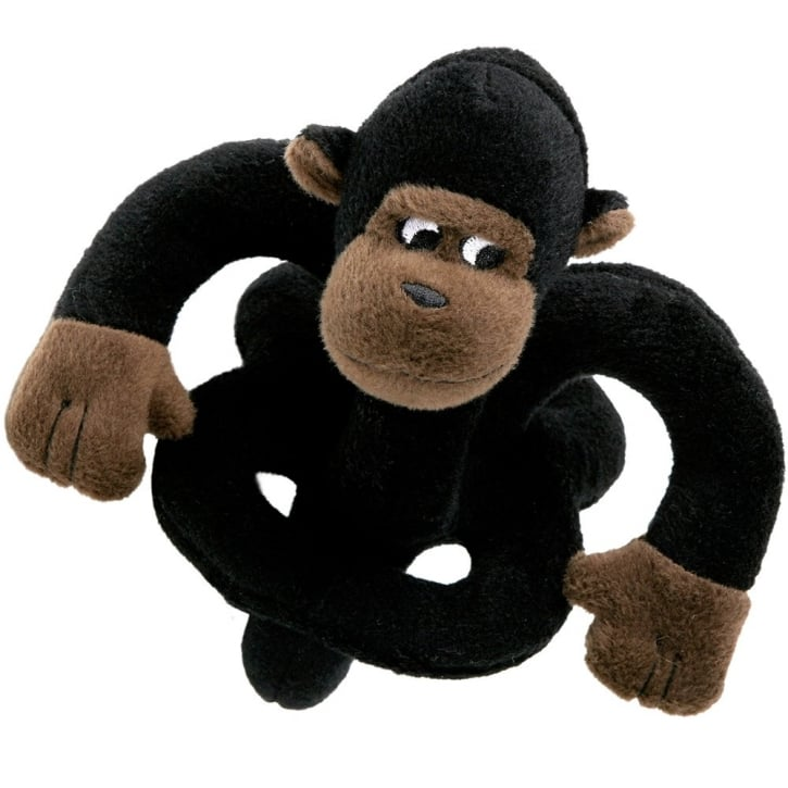 Loopies Plush Talking Mini Gorilla Dog Toy