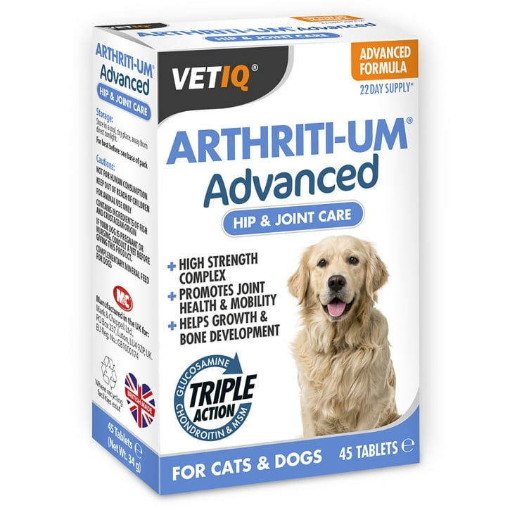 Mark & Chappell Arthriti-Um Advanced Hip & Joint Care Tablets 45 pack