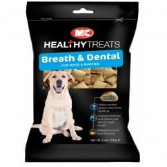 Healthy Treats Breath & Dental Dog & Puppy Treats 70g