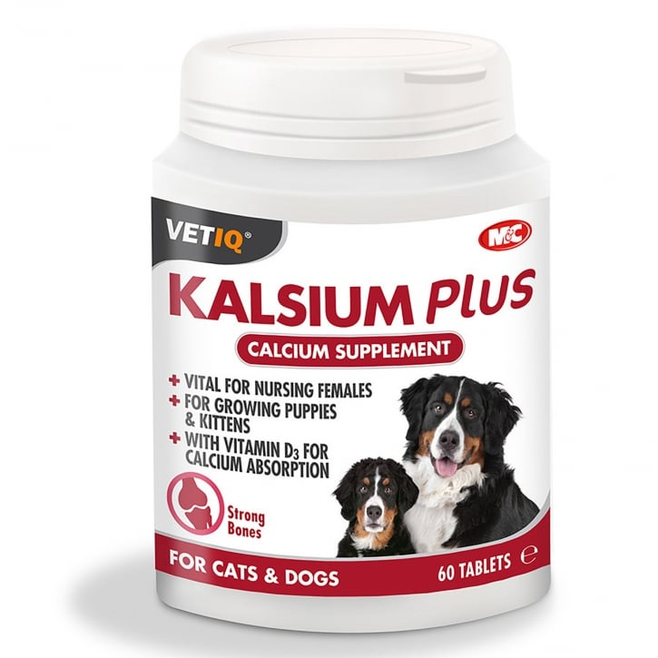 Mark & Chappell Kalsium Plus Supplement Tablets 60 pack