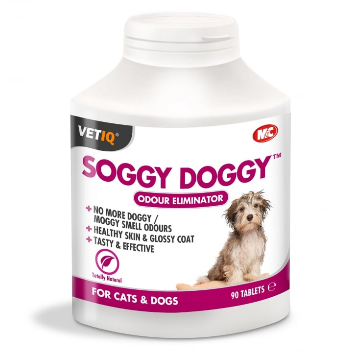 Mark & Chappell Soggy Doggy Odour Eliminator Tablet 90 pack