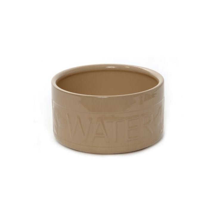 Mason Cash Cane Ceramic High Sided Lettered Dog Water Bowl 8