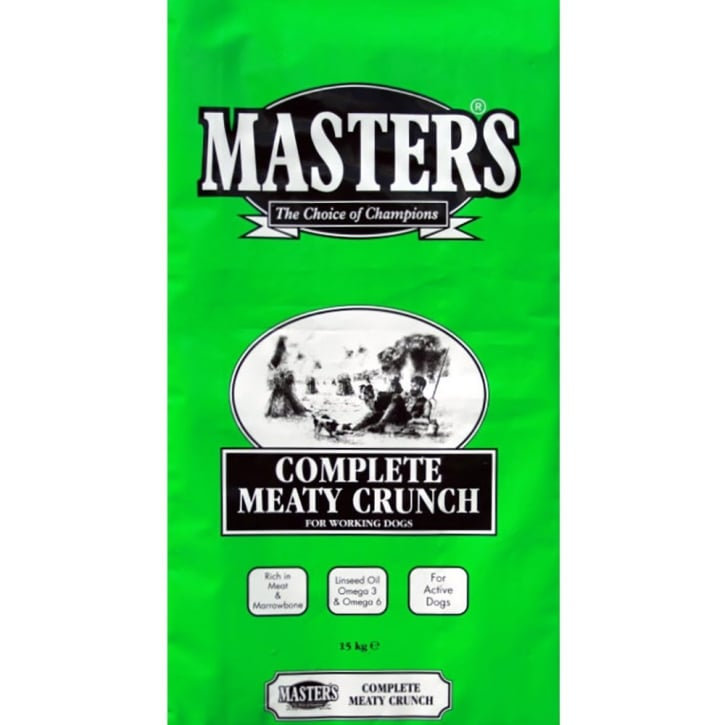 Masters Complete Meaty Crunch Dog Food 15kg