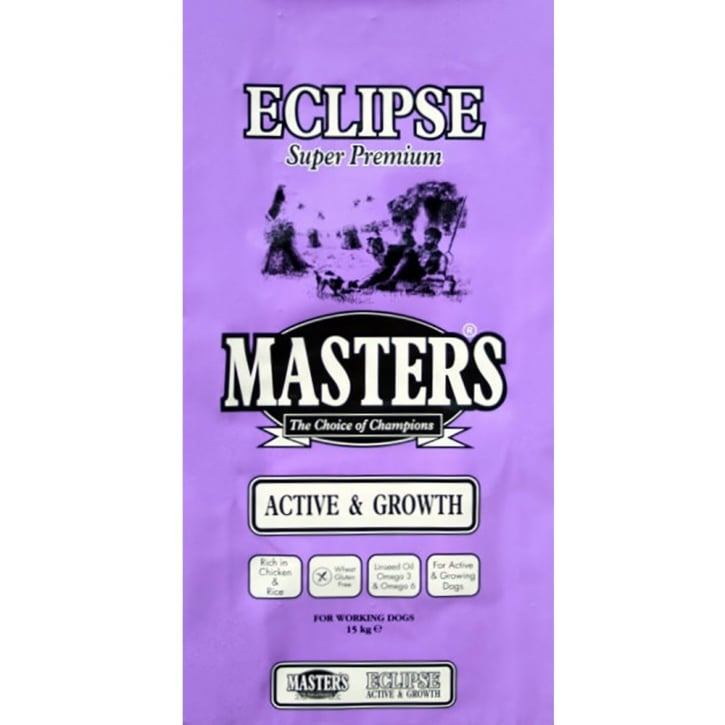 Masters Eclipse Active & Growth Adult Dog Food 15kg