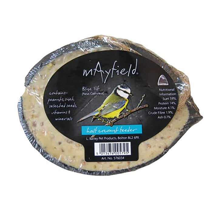 Mayfield Mayfield Wild Bird Half Coconut Suet Treat