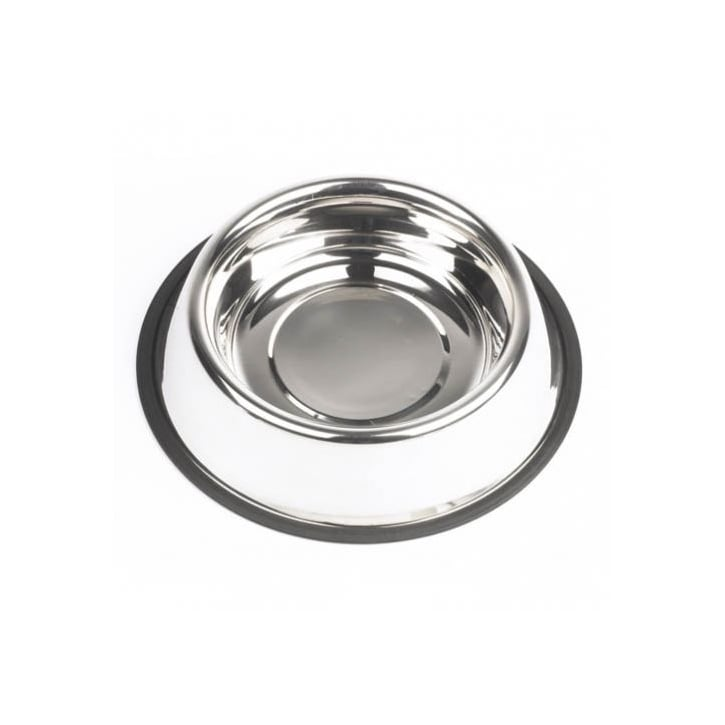 Mayfield Non Slip Stainless Steel Dog Feed/water Bowl - 22cm