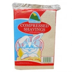 Small Animal Compressed Shavings Bedding - Briefcase Size