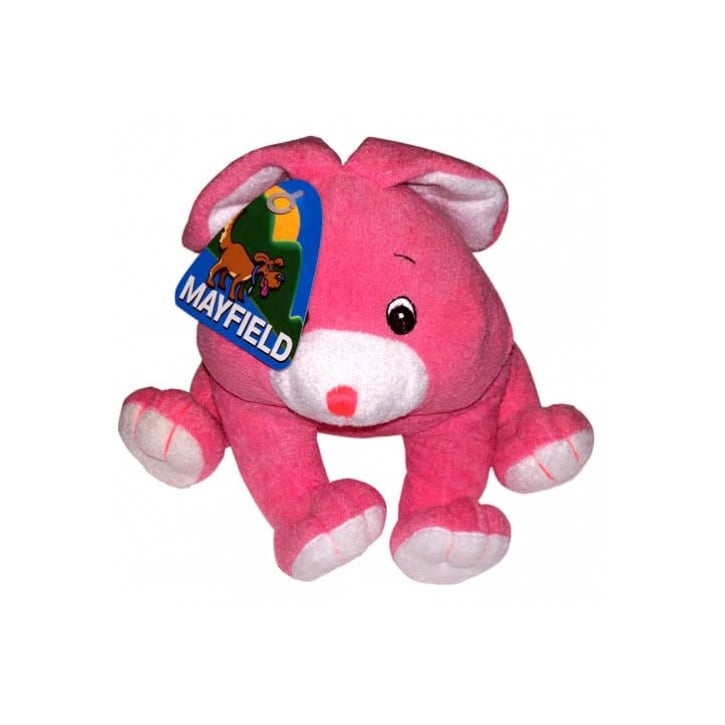Mayfield Softy Pink Rabbit Dog Play Toy.