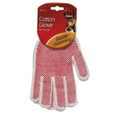Cotton Grooming Glove For All Dog & Cat Coats