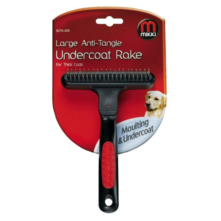 Mikki Mikki Anti-tangle Undercoat Rake for Thick Coat - Large
