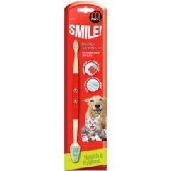 Mikki Double Headed Toothbrush For Dogs And Cats