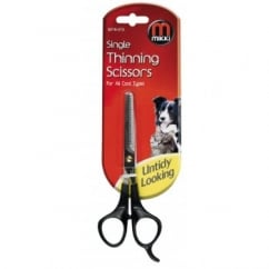 Mikki Single Thinning Scissors For All Coat Types.