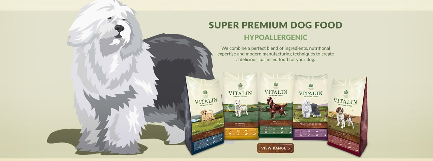 Vitalin Dog Food