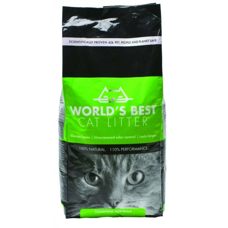 MPM Worlds Best Cat Litter - Clumping Formula 12.7kg