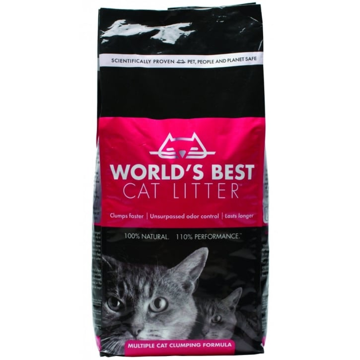 MPM Worlds Best Cat Litter Multiple Cat Formula 12.7kg