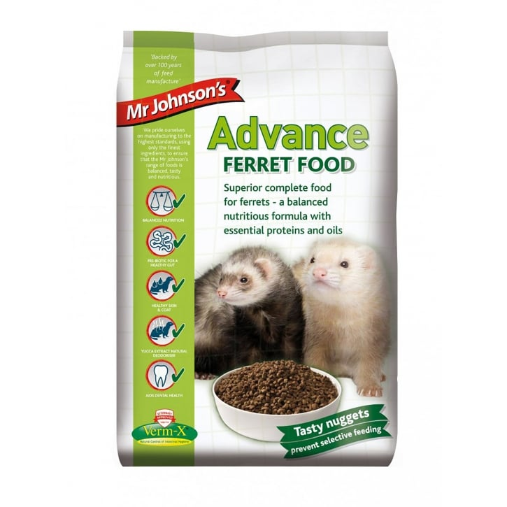 Mr Johnsons Advance Ferret Food 2kg