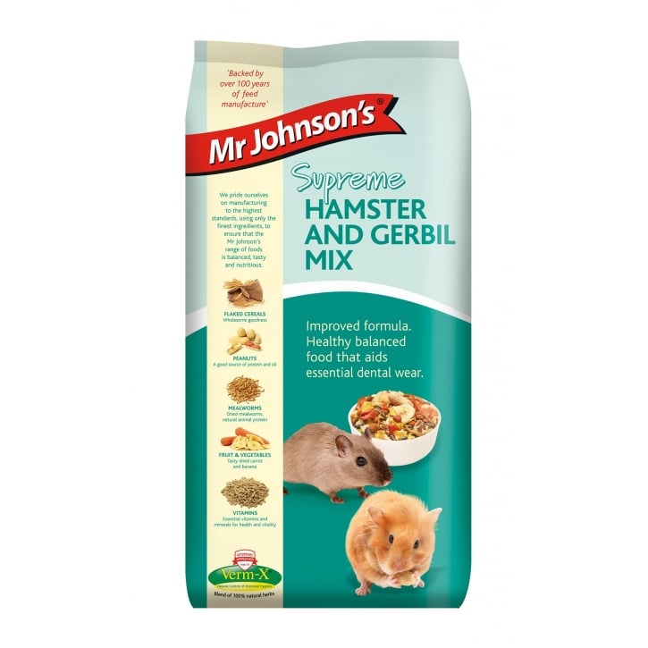 Mr Johnsons Mr Johnsons Supreme Hamster & Gerbil Mix 15kg