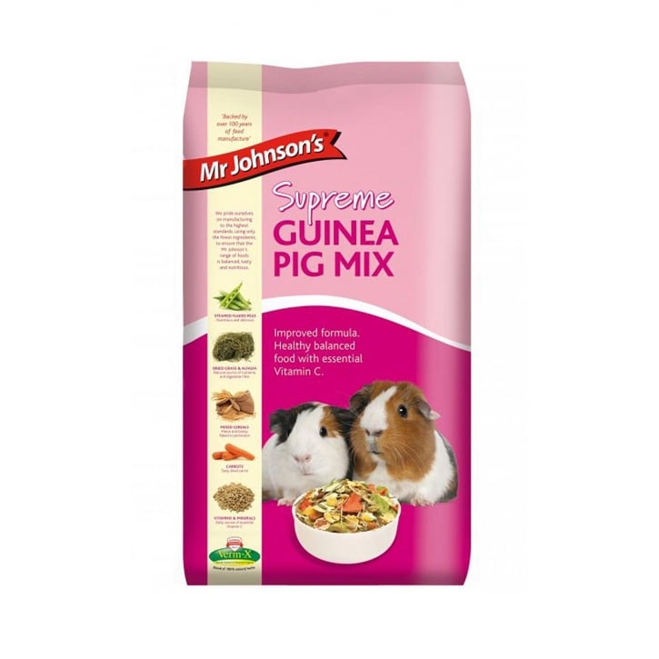 Mr Johnsons Supreme Guinea Pig Mix 15kg