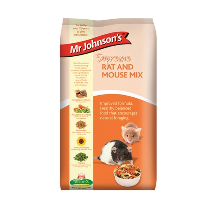 Mr Johnsons Supreme Rat and Mouse Mix 15kg