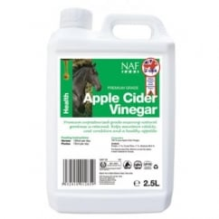 NAF (Natural Animal Feeds) Apple Cider Vinegar Horse Supplement 2.5 Litre