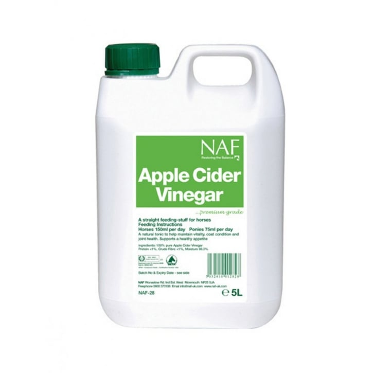 NAF (Natural Animal Feeds) Apple Cider Vinegar Horse Supplement 25 Litre