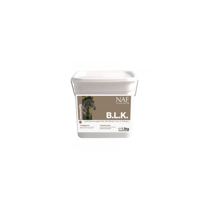 NAF (Natural Animal Feeds) B.L.K Horse Supplement 500g