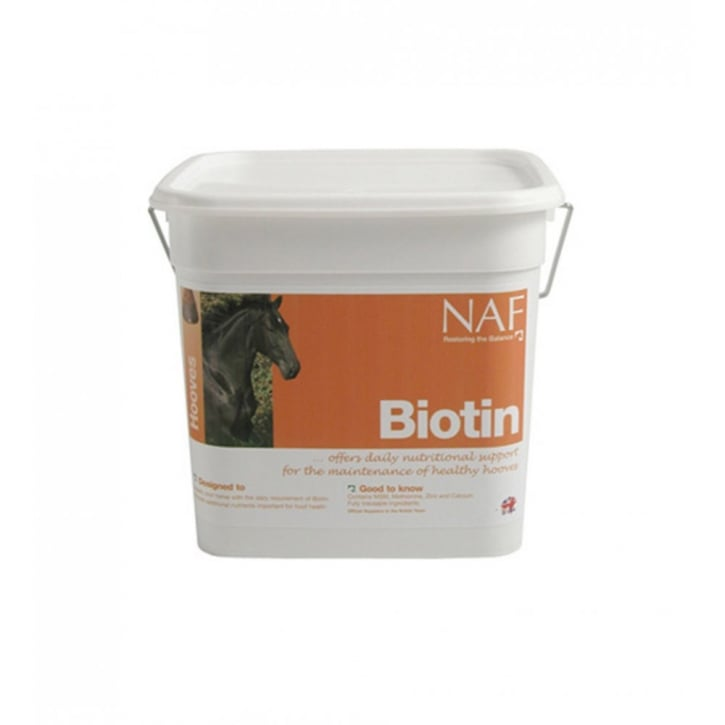 NAF (Natural Animal Feeds) Biotin Horse Supplement 3kg