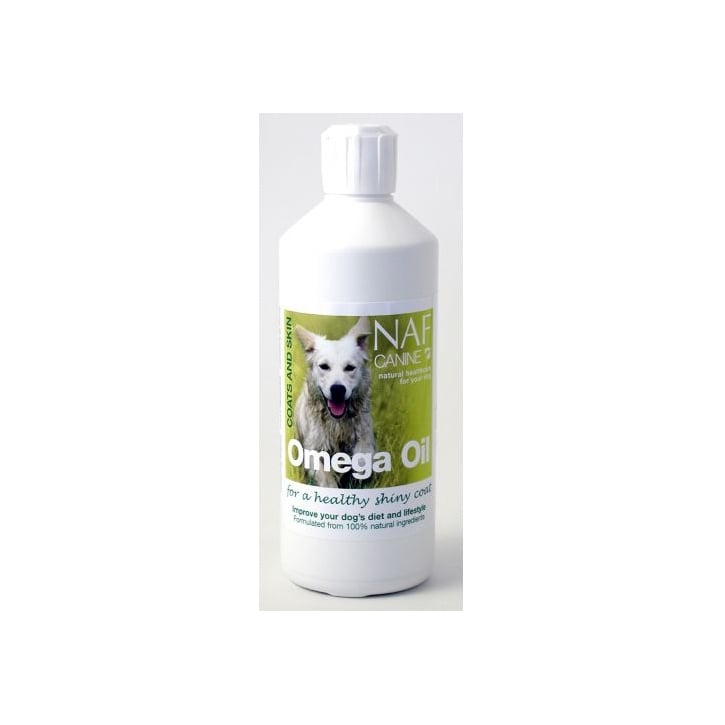 NAF (Natural Animal Feeds) Canine Omega Oil 500ml