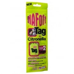NAF (Natural Animal Feeds) Citronella Fly Repellent Tag Pack 2