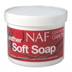 NAF (Natural Animal Feeds) Horse Leather Soft Soap - 450gm
