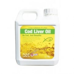 NAF (Natural Animal Feeds) I Cant Believe Its Not Cod Liver Oil 1 Litre