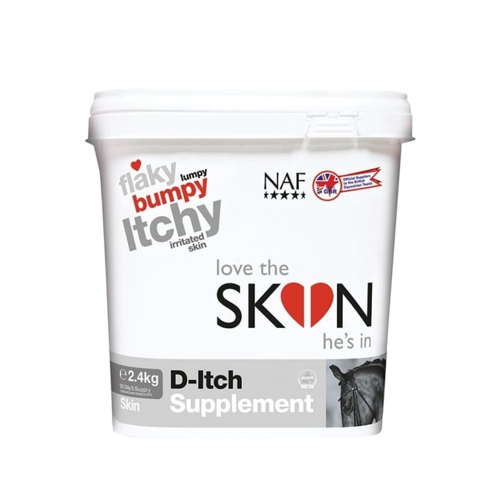 NAF (Natural Animal Feeds) Love the Skin He's In D-itch Horse Supplement 2.4kg
