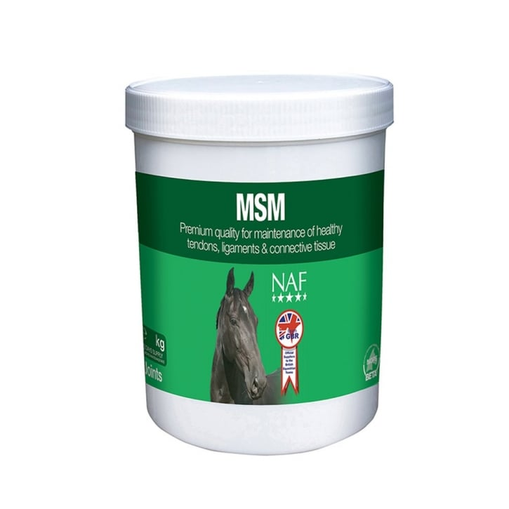 NAF (Natural Animal Feeds) MSM Horse Supplement 2.5kg