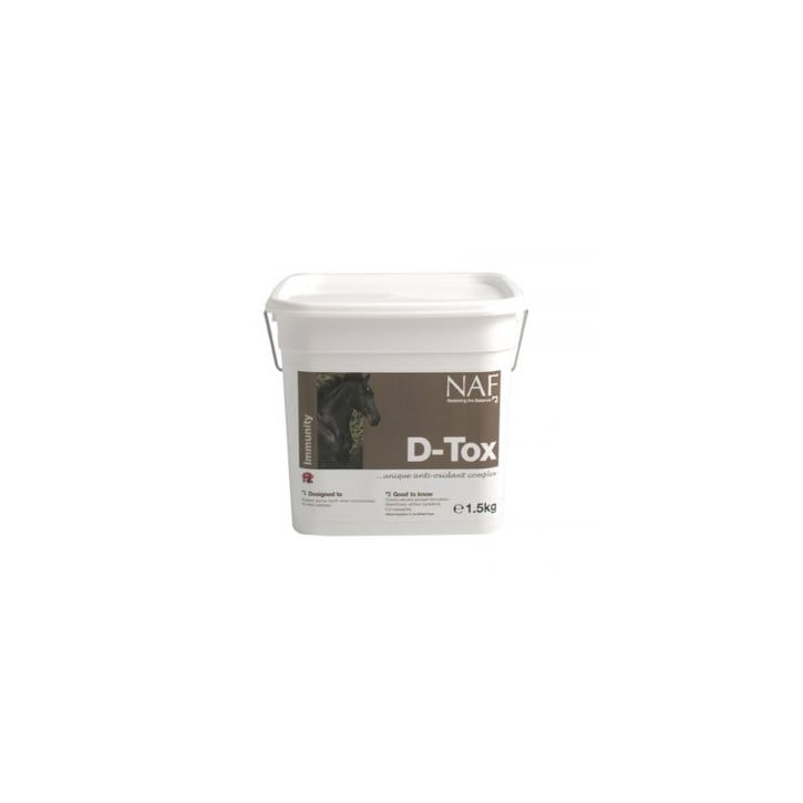 NAF (Natural Animal Feeds) D-Tox Horse Supplement 1.5kg