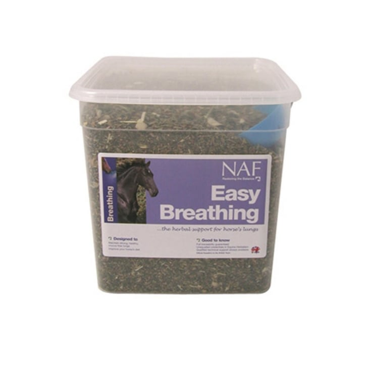 NAF (Natural Animal Feeds) Easy Breathing Horse Supplement 3kg