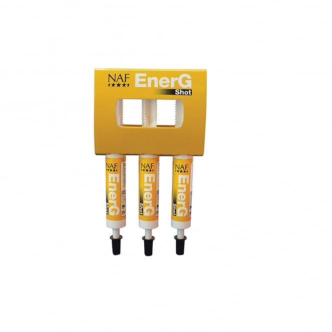 NAF (Natural Animal Feeds) EnerG Shot Pack 3 x 30ml Syringes