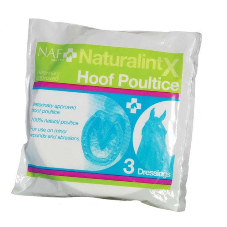 NAF (Natural Animal Feeds) First Aid Naturlintx Horse Hoof Poultice Pack 3