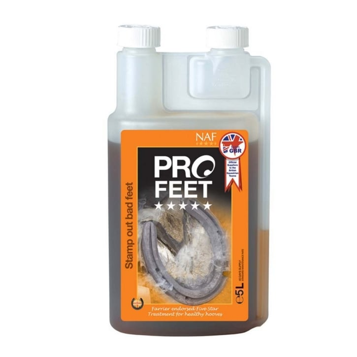 NAF (Natural Animal Feeds) Five Star Pro Feet Liquid 5 Litre