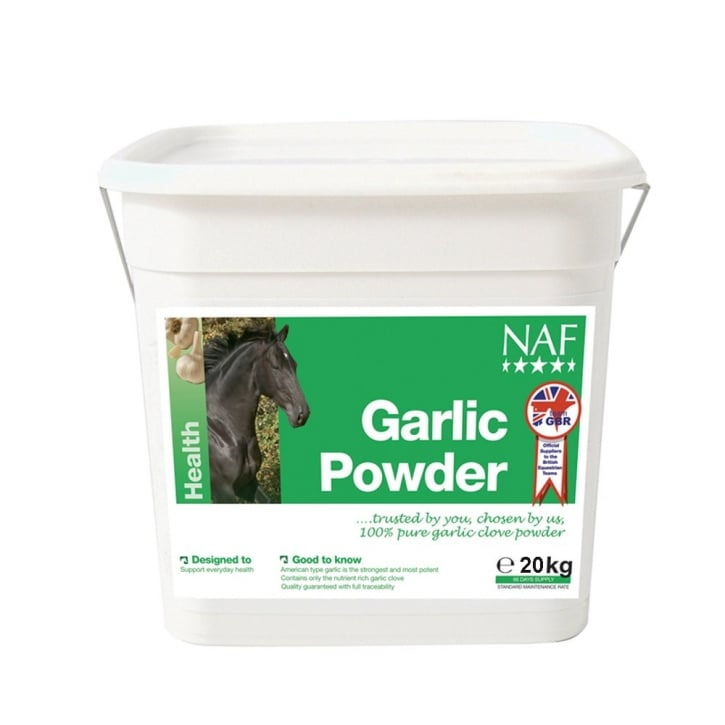 NAF (Natural Animal Feeds) Garlic Granules Horse Supplement 20kg