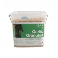 NAF (Natural Animal Feeds) Garlic Granules Horse Supplement 700gm